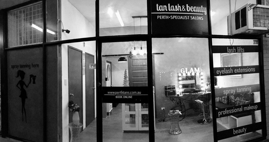 eyelash extension salon perth