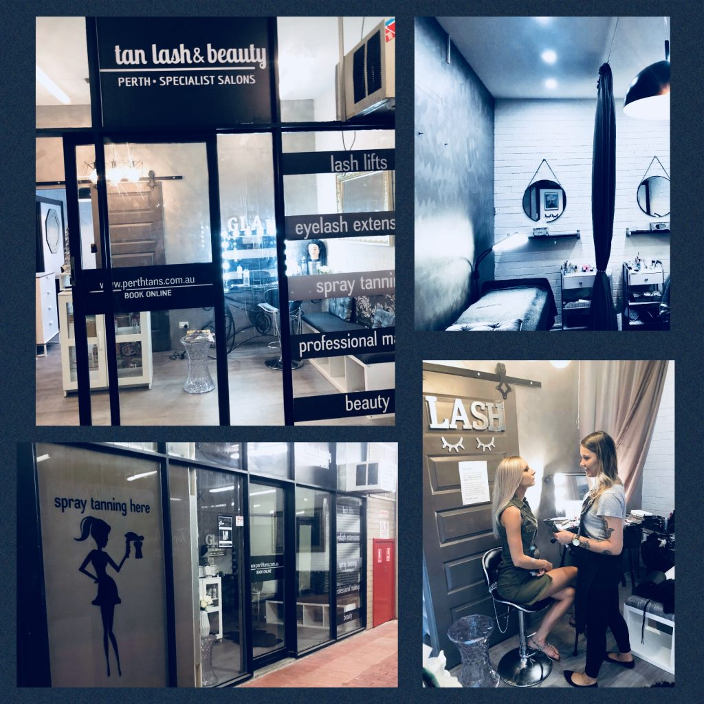 north perth lashes tanning salon